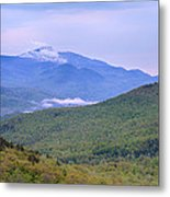 Giant Mountain From Owls Head Metal Print