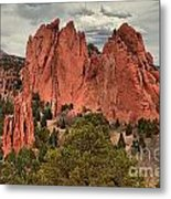 Giants Among The Trees Metal Print