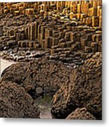 Giants Causeway, Antrim Coast, Northern Metal Print