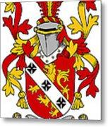 Gibbons Coat Of Arms Irish Metal Print