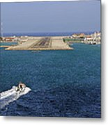 Gibraltar International Airport Metal Print