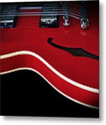 Gibson Es-335 Electric Guitar Metal Print