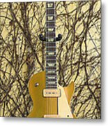 Gibson Les Paul Gold Top '56 Guitar Metal Print