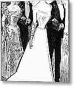Gibson: The Debutante, 1899 Metal Print