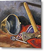 Gifts Of The Ax Makers Metal Print by Jennifer Richard-Morrow