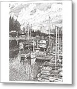 Gig Harbor Entrance Metal Print