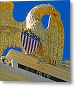 Gilded Eagle Metal Print