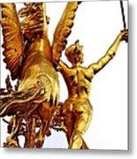 Gilded Glory Metal Print