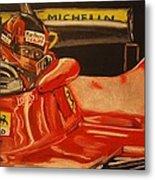 Gilles Villeneuve At Monaco 1980 Metal Print