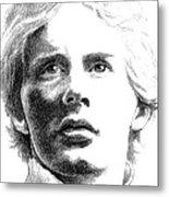 Gilles Villeneuve Metal Print by Diane Fine
