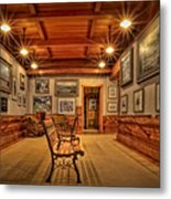 Gillette Castle Gallery Room Metal Print