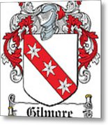 Gilmore Coat Of Arms Irish Metal Print