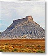Gilson Peak Along The Colorado River Metal Print