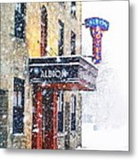 Gimme Shelter Metal Print