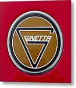 Ginetta Name Badge Metal Print