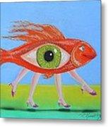 Ginger Fish Metal Print