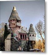 Gingerbread Castle Metal Print