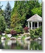 Ginter Gazebo Metal Print