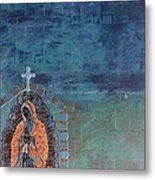 Girl From Guadalupe Metal Print