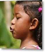 girl from Panama 3 Metal Print