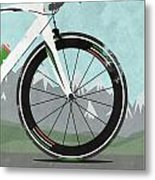 Giro D'italia Bike Metal Print by Andy Scullion