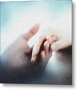Give Me Your Hand Metal Print