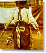 Gizmo The Rodeo Clown Metal Print