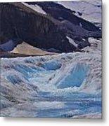 Glacial Meltwater 1 Metal Print