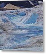 Glacial Meltwater 2 Metal Print