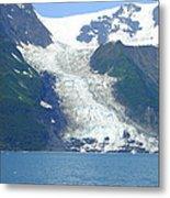 Glacial Spillover Metal Print