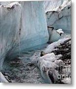 Glacial Waters Metal Print