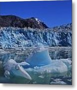 Glacier And Ice Metal Print