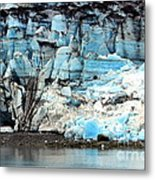 Glacier And Sediments Metal Print