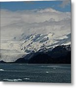 Glacier In Prince William Sound Metal Print