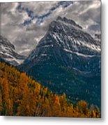Glacier National Park Big Bend Metal Print