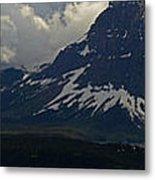 Glacier Storm Brewing Metal Print