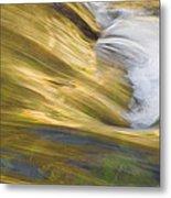Glacier Stream Glacier National Park Metal Print