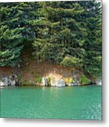 Glacier Water 1 Metal Print