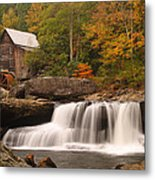 Glade Creek Grist Mill 10 Metal Print