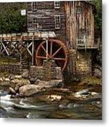Glade Creek Grist Mill Metal Print