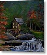 Glade Creek Grist Mill Metal Print by Stefon Marc Brown