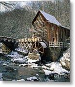 Glade Creek Grist Mill In West Virginia Metal Print