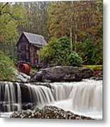 Glade Creek Waterfall Metal Print