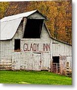 Glady Inn Barn Wv Metal Print