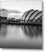 Glasgow Armadillo Metal Print by John Farnan