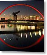 Glasgow Clyde Arc Bridge Metal Print