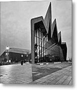 Glasgow Riverside Transport Museum Metal Print