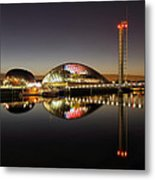Glasgow Science Centre Metal Print