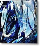Glass Abstract 140 Metal Print