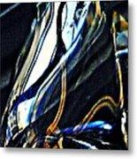 Glass Abstract 150 Metal Print